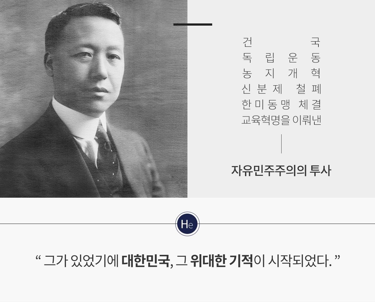 이승만대통령 설명